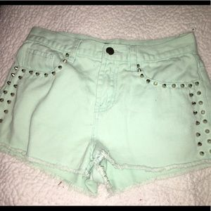 Forever 21 mint shorts